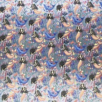 Bulk Ream Roll Any-Occassion Gift Wrap Wrapping Paper, Mermaids