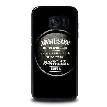 jameson whiskey samsung galaxy s7 edge case cover  number 1