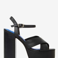 Jeffrey Campbell Geri Leather Platform