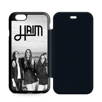 Haim Leather Wallet Flip Case iPhone 6 | 6S