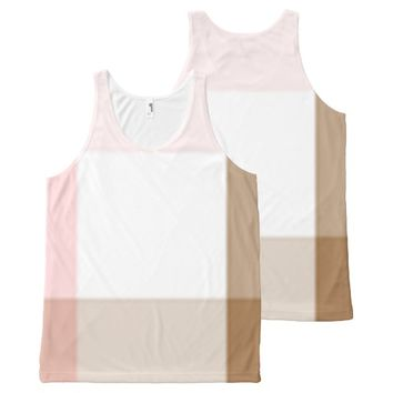 Neapolitan Crisscross All-Over-Print Tank Top