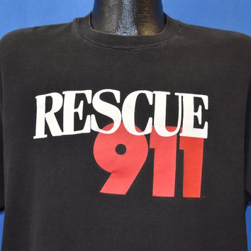 90s Rescue 911 Reality TV Show t-shirt Extra Large