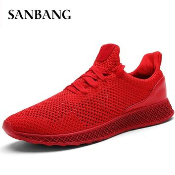 spring summer 2018 Male Light Gym Sport Shoes Ultra Fitnes Stability Sneakers Men Athletic Trainers Men Tennis Shoes E4