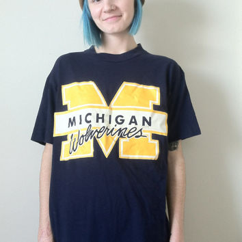90s Michigan Wolverines Graphic T-Shirt
