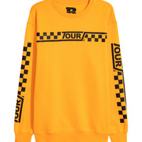 Sweatshirt with Printed Motifs - from H&M
