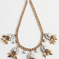 Statement Endless Charm Necklace by ModCloth