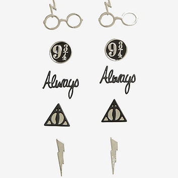 Harry Potter Symbols Earrings Set