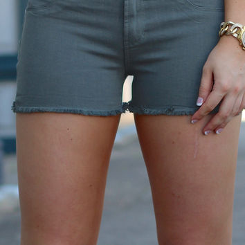Articles of Society: Madre Cutoff Shorts {Pompano}