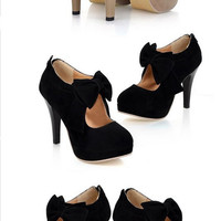Apricot High Heels Pumps Shoes