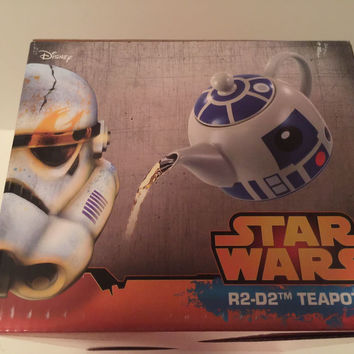 Star Wars R2-D2 Ceramic Teapot New with Box