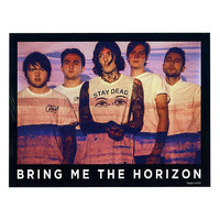 Bring Me The Horizon Band Photo Sticker
