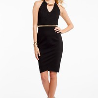 Necklace Sheath Dress