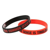 Marvel Deadpool Our Common Sense Rubber Bracelet 2 Pack