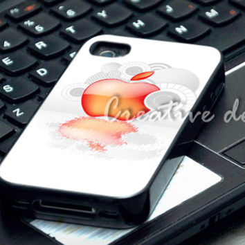 Apple logo case for iphone 4/4S, iphone 5/5C, samsung galaxy s3, samsung galaxy s4, ipod 4 and ipod 5