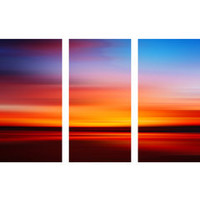 ideeli | ART ADDICTION Set of 3 Abstract Landscape Panels IV