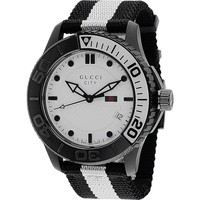 Gucci Watches Men's City Watch (White)