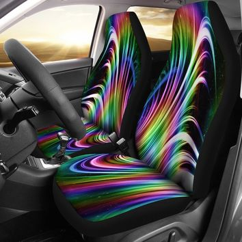 Rainbow Bucket Seat Covers