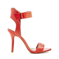 Miss KG Eva Orange Heeled Sandals