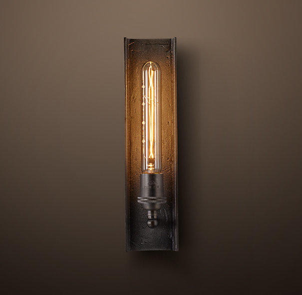 Wall Sconce Lighting Images : San Sebastian Sconce - Iron from Restoration Hardware Lighting