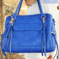 By Your Side Purse: Royal Blue