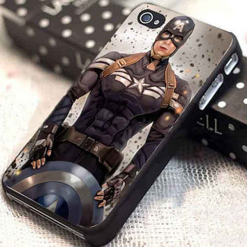 Captain America Winter Soldier 09 customized for iphone 4/4s/5/5s/5c, samsung galaxy s3/s4, and ipod touch 4/5