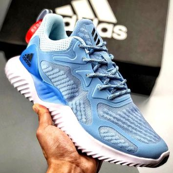 ADIDAS AlphaBOUNCE Tide brand 3M reflective sports running shoes