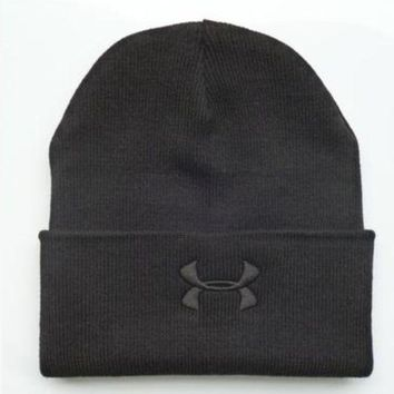 LMOFN1 Perfect Under Armour Women Men Embroidery Knit Hat Beanie Cap Hat