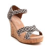 Womens TOMS Strappy Wedge