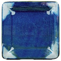 Prado Stoneware - Square Dinner Plate - Royal Blue