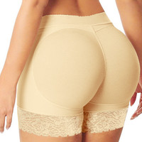 Lady Padded Seamless Butt Hip Enhancer Shaper Underwear Women Safe Panties Underpants Shapers