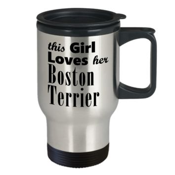 Boston Terrier - Travel Mug