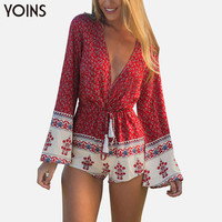 YOINS 2016 New Boho Printed Women