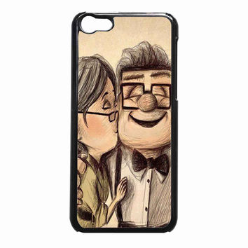 UP disney Kiss Love - Ellie Carl d40b2c0c-c851-4dac-a11b-4345318e7b71 FOR iPhone 5C CASE *NP*