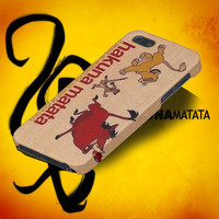 IPhone5 IPhone4 IPhone4S Case  lion king draw allround by Drawclub