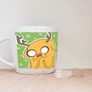 Adventure Time Marceline Princess Bubblegum My art marshall lee fionna and cake finn and jake Prince mug coffee, mug tea, size 8,2 x 9,5 cm
