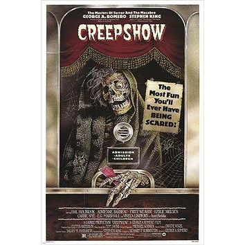 CREEPSHOW vintage movie poster STEVEN KING cult fantasy COLLECTORS 24X36
