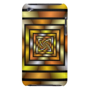 Luminous Tunnel Colorful Graphic Fractal Pattern Case-Mate iPod Touch Case