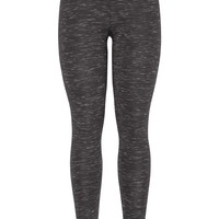 Spacedye Print Legging - Charcoal