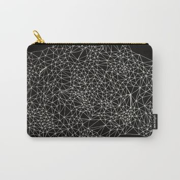 Geo Webbed Carry-All Pouch by DuckyB