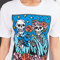 Truly Madly Deeply Skeleton Love Tee | Urban Outfitters