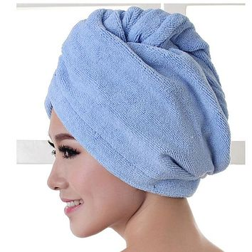 "High Quality Microfiber Hair Towel Hair for Curly Hair Method ""Plopping"""