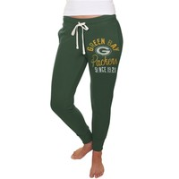 Women's Green Bay Packers Junk Food Green Sunday Sweatpants