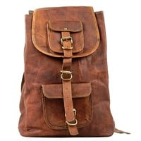 Vintage Leather Melbourne Back Pack