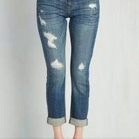 90s Long Skinny Genuinely Dressed Jeans in Light Wash