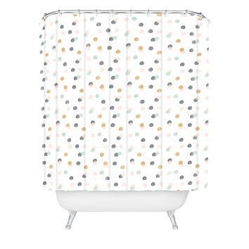 Hello Twiggs Pastel Bubbles Shower Curtain