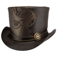 Sprocket Steampunk Top Hat - MCI-6054 from Dark Knight Armoury