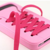 cute iShoes Silicone iPhone 4/4S/5 Case