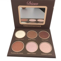 Face Bronzer/Highlighter Contour Kit