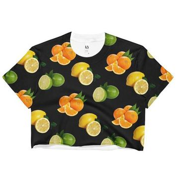 Citrus Crop Top