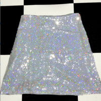 SWEET LORD O'MIGHTY! THE GLITTORIS SKIRT IN SILVER